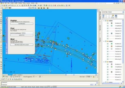 prototype CSWclient in AutoCAD Map